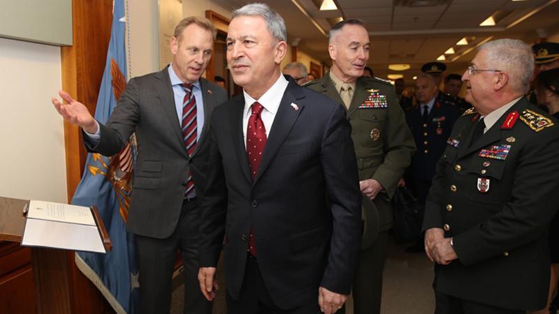 Hulusi Akar'dan Pentagon ve Münbiç açıklaması