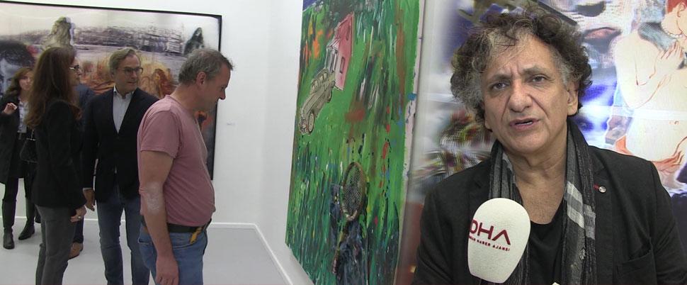 'Bir Haremim Olsun İsterdim' isimli sergisini Berlin'de açtı