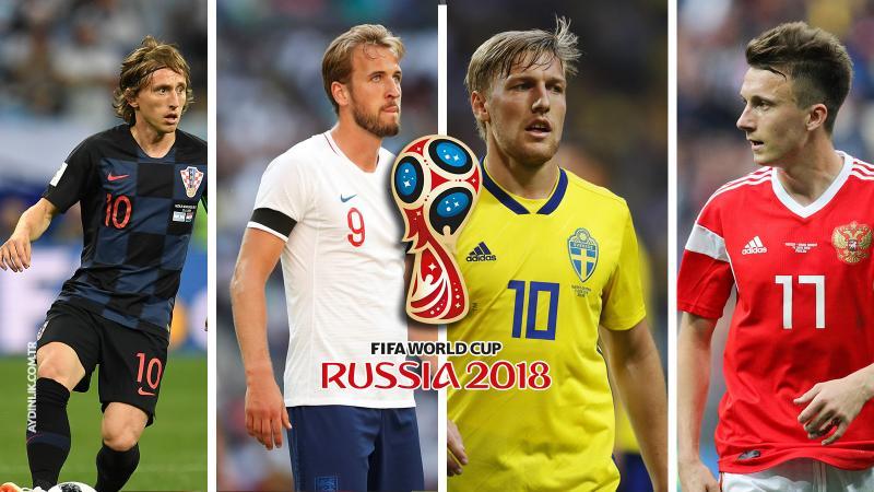 Dünya Kupası'nda bugün ( 7 Temmuz 2018 )