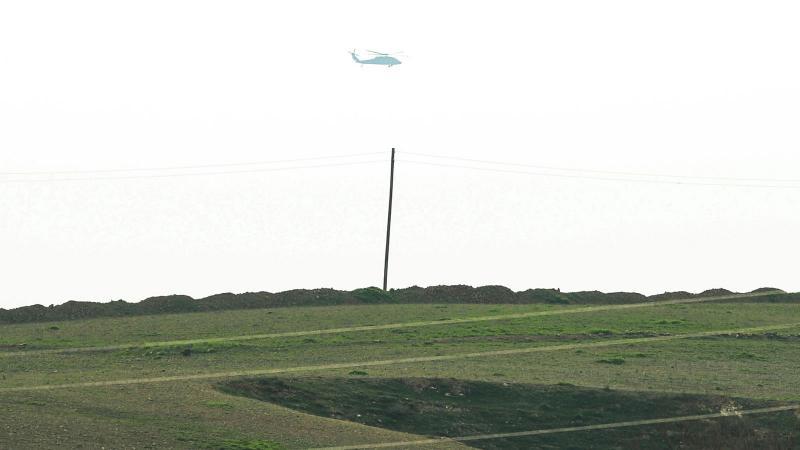 Teröristler tünellerde, ABD helikopterleri alçak uçuşta