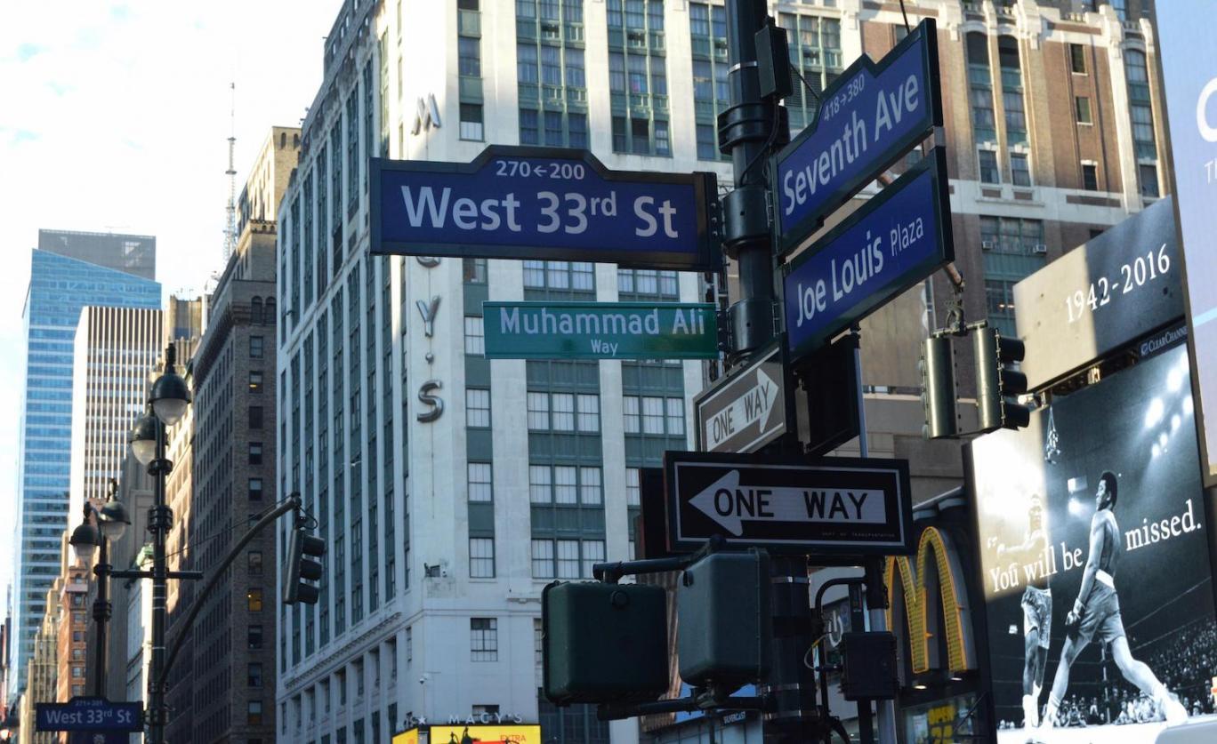 New York renames Manhattan street 'Muhammad Ali Way'
