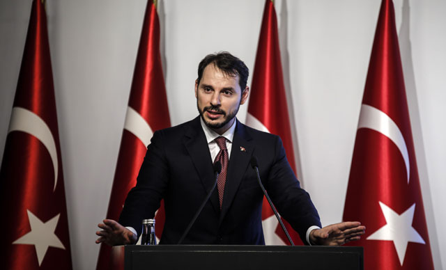 Turkey's year-end budget deficit in 2018 at 73 billion liras: Minister