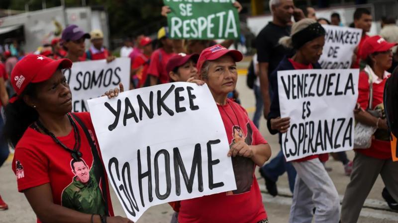 'Milyonlarca Venezuelalı ABD'nin askeri müdahalesine direnecek!'