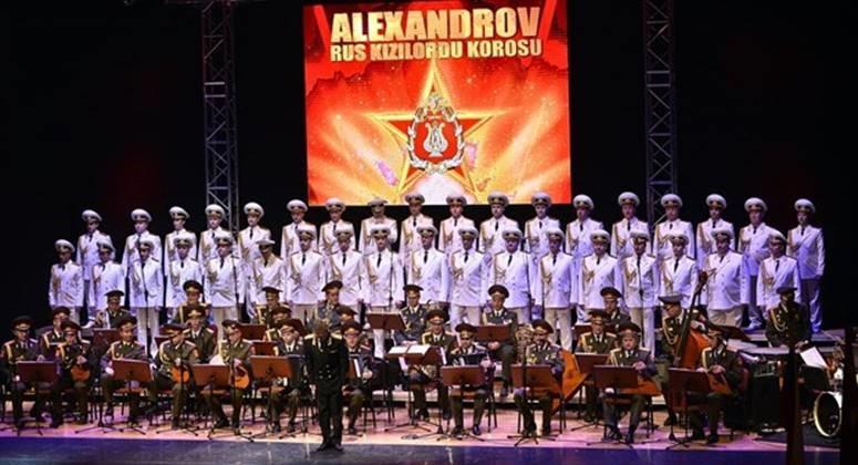 Kızıl Ordu Korosu 90. yılında İstanbul'da konser verecek