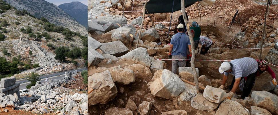 Termessos Antik Kenti'nde bulundu!.. 2300 yıllık!
