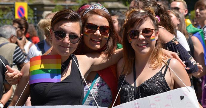 3 bin kişi cinsiyet eşitliği için yürüdü