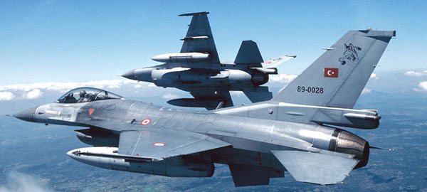 İHA'lar tespit etti, F-16'lar vurdu!